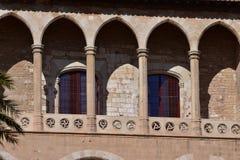 Palazzo Almudaina, Palma de Mallorca, Spagna Fotografie Stock