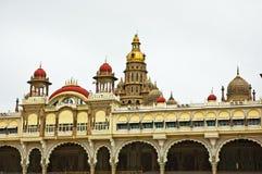 Palazzo antico di Mysore Fotografia Stock Libera da Diritti