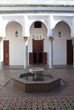 Palazzo antico a Tangeri immagini stock