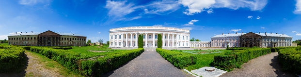 Palazzo antico in Ucraina Fotografie Stock