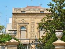 Palazzo arabo dell'Italia del sud Fotografia Stock Libera da Diritti
