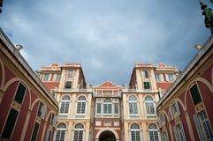 Palazzo architecture in Genoa Stock Photography