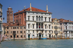 Palazzo Balbi at the Grand Canal Royalty Free Stock Images
