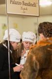 Palazzo Bandinelli. Sweets shop on charity marathon From Andrew to Nicholas,  December 12-18, 2011,  Lviv, Ukraine Stock Image