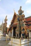 Palazzo Bangkok del guardiano del demone grande Fotografia Stock