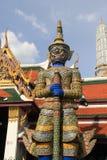 Palazzo Bangkok del guardiano del demone grande Fotografie Stock