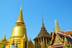 Palazzo Bangkok Tailandia 0296 di Wat Pra Kaew The Grand Immagini Stock Libere da Diritti