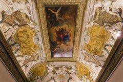 Εσωτερικό Palazzo Barberini, Ρώμη, Ιταλία Στοκ Φωτογραφίες
