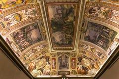 Palazzo Barberini,罗马,意大利内部  库存图片
