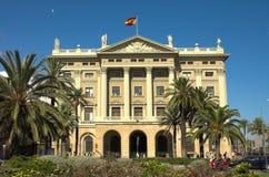 Palazzo a Barcellona Immagine Stock Libera da Diritti