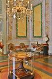 Palazzo barrocco di lusso Borromeo Isola interno Bella Lago Maggiore Italy fotografia stock libera da diritti