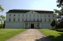 Palazzo bianco Fotografia Stock