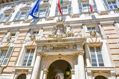 Palazzo Bianco, Génova, Italia fotografía de archivo libre de regalías