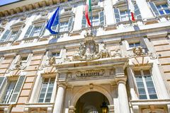 Palazzo Bianco, Genova, Italia immagini stock