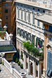 Palazzo Bianco, Genova, Italia fotografie stock libere da diritti
