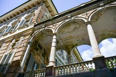 Palazzo Bianco, Genova, Italia fotografie stock