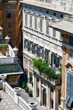 Palazzo Bianco, Genua, Italië royalty-vrije stock foto's