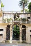 Palazzo Bianco ogród, genua, Włochy Obraz Stock
