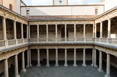 Palazzo Bo, historical building home of the Padova University from 1539, in Padua Royalty Free Stock Photography