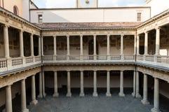 Palazzo BO, maison historique de bâtiment de l'université de Padoue à partir de 1539, à Padoue Photographie stock libre de droits