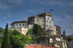 Palazzo Bombardieri, Rosignano Marittimo, Tuscany fotografia royalty free