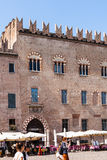 Palazzo Bonacolsi Castiglioni on Piazza Sordello Royalty Free Stock Photo