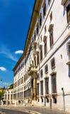 Palazzo Borghese στη Ρώμη, Ιταλία Στοκ εικόνα με δικαίωμα ελεύθερης χρήσης