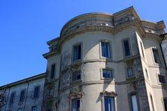 Palazzo Borromeo. Detail of palace Borromeo on Isola Bella, Italy Stock Photo