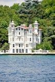 Palazzo - Bosporus fotografie stock libere da diritti