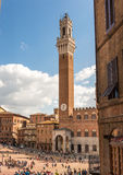 Palazzo Bublico in Siena, Italy Royalty Free Stock Photo