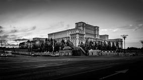 Palazzo Bucarest Romania della gente Fotografia Stock