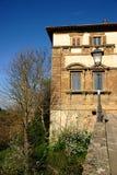 Palazzo Campana (Colle di Valdelsa) Fotografia Stock Libera da Diritti