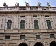 Palazzo Canossa por Michele Sanmicheli em Corso Cavour em Verona Imagens de Stock Royalty Free