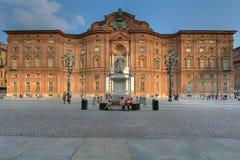 Palazzo Carignano, Turin, Italien Lizenzfreie Stockbilder