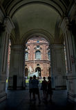 Palazzo Carignano, Turin, Italy Royalty Free Stock Images