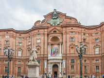 Palazzo Carignano of Turin, Italy Royalty Free Stock Photography