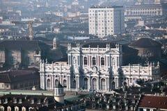 Palazzo Carignano in Turin, Italy Stock Photo