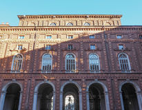 Palazzo Carignano Turin Stock Photo