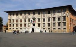 Palazzo Carovana на квадрате рыцарей в Пизе, Италии Стоковые Фотографии RF