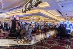 Palazzo Casino floor Palazzo Las Vegas. Las Vegas from the 29th floor of the Palazzo.The Palazzo is a luxury hotel and casino resort located on the Las Vegas stock photos