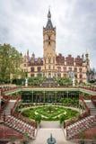 Palazzo, castello Schwerin, Germania Immagine Stock Libera da Diritti