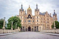 Palazzo, castello Schwerin, Germania fotografia stock