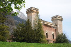 Palazzo Castelmur Royalty Free Stock Photos