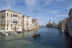 Palazzo Cavalli Franchetti на грандиозном канале, Венеции Стоковое Изображение RF