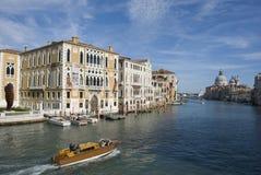 Palazzo Cavalli Franchetti на грандиозном канале, Венеции Стоковое фото RF