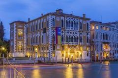 Palazzo Cavalli-Franchetti Stock Images
