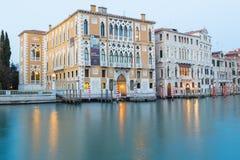 Palazzo Cavalli-Franchetti Arkivbild