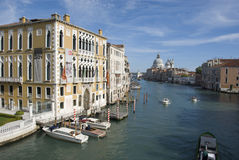 Palazzo Cavalli Franchetti on Grand Canal, Venice Stock Images