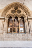 Palazzo Chiaramonte - Steri窗口在巴勒莫 免版税图库摄影