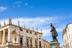 Palazzo Chiericati en Vicenza Foto de archivo